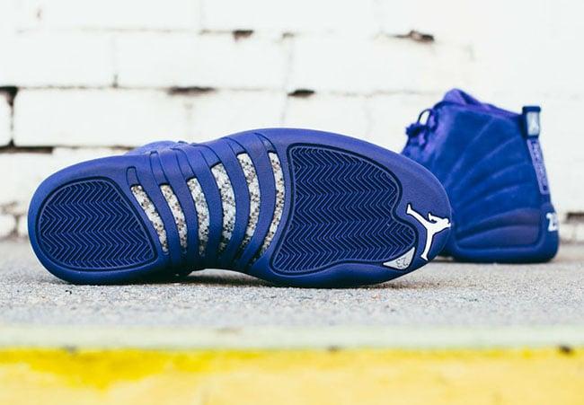 Blue Suede Air Jordan 12 Release Info