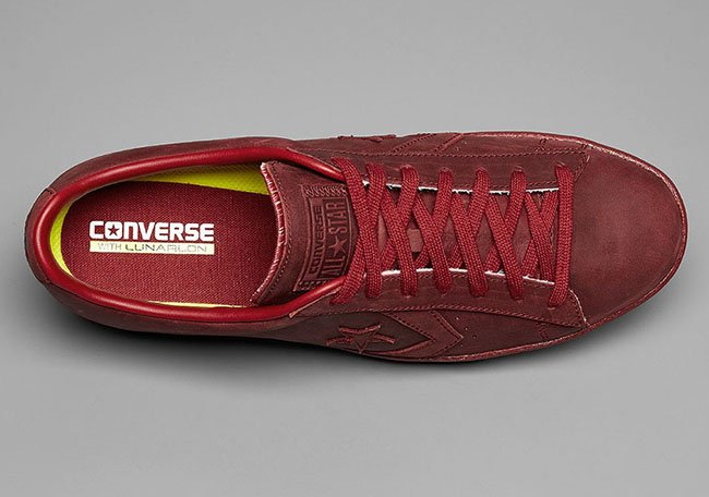 Converse Pro Leather OX Brick Red