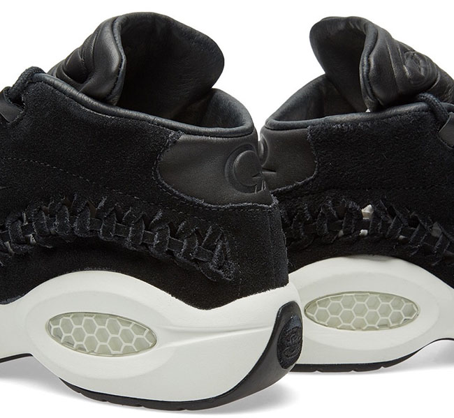 Hall of Fame x Reebok Question Mid Black Woven