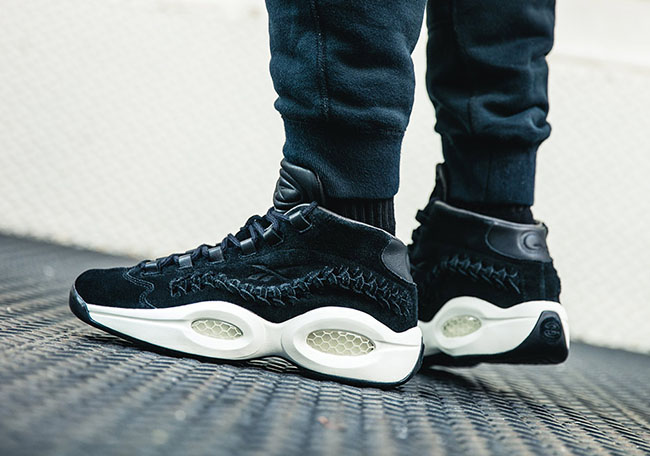 durable service Hall of Fame x Reebok Question Woven Inspired by Iversons  Braids 847ed511e