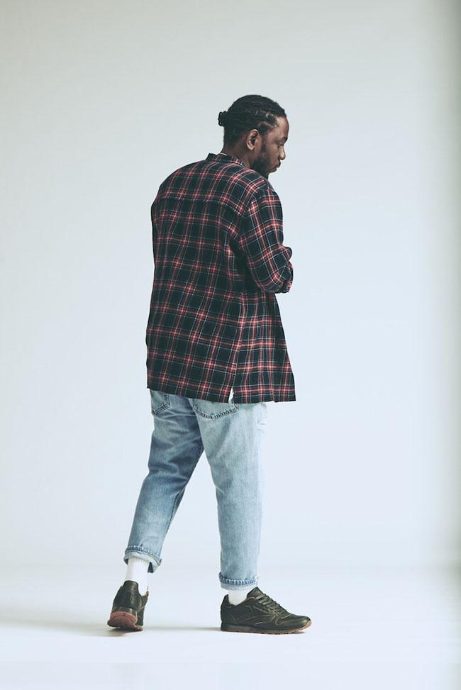Kendrick Lamar x Reebok Classic Leather Lux Olive Green Gum