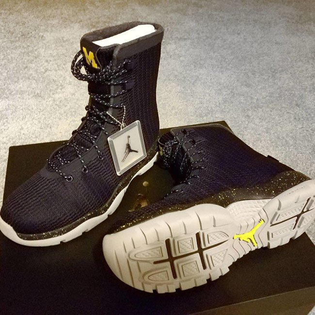 Michigan Air Jordan Future Boots