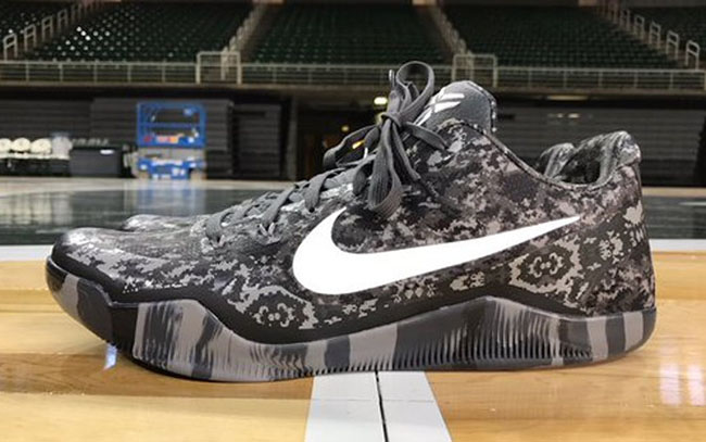Michigan State Nike Kobe 11 Camo Armed Forces