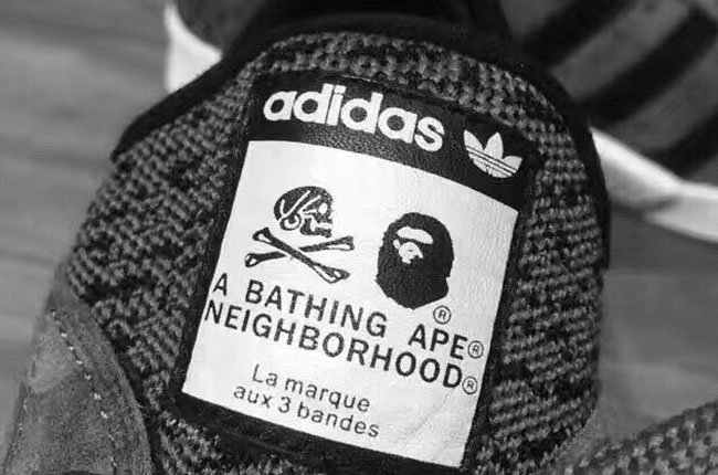 size 40 d7d99 598f6 Neighborhood x Bape x adidas Pro Model NMD