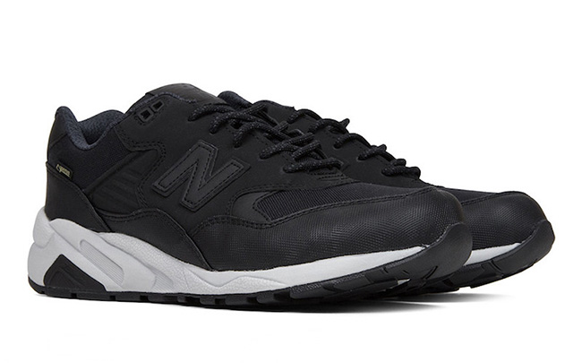 new balance 580 black grey
