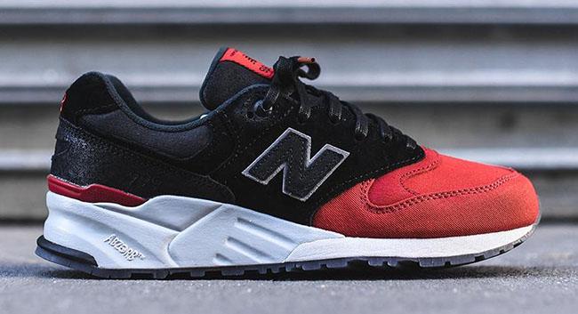 New Balance 999 Red Toe