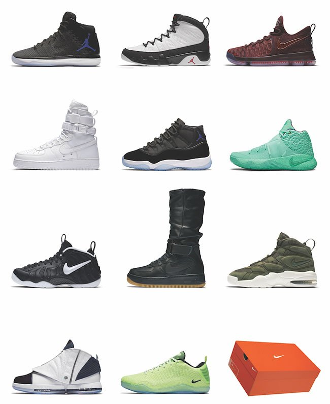 Nike 12 Soles Holiday 2016