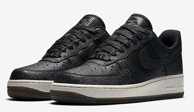Nike Air Force 1 Low Paisley Black