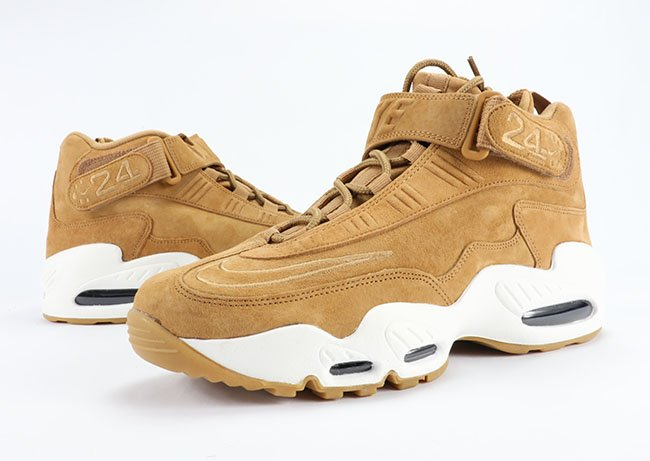 free shipping f486f 5f8ef Nike Air Griffey Max 1 Wheat Flax Review