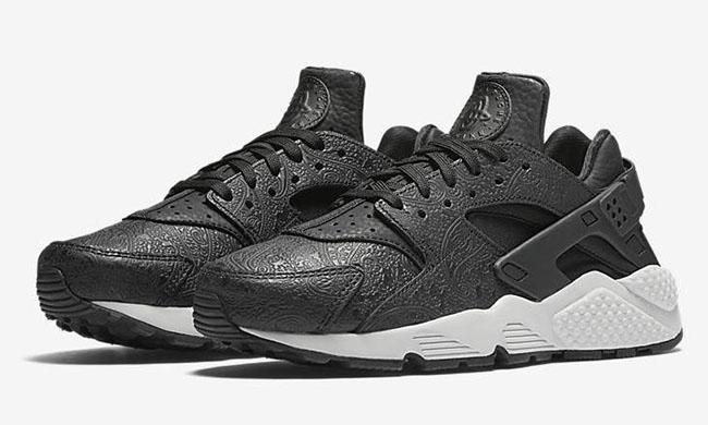 Nike Air Huarache Paisley Black