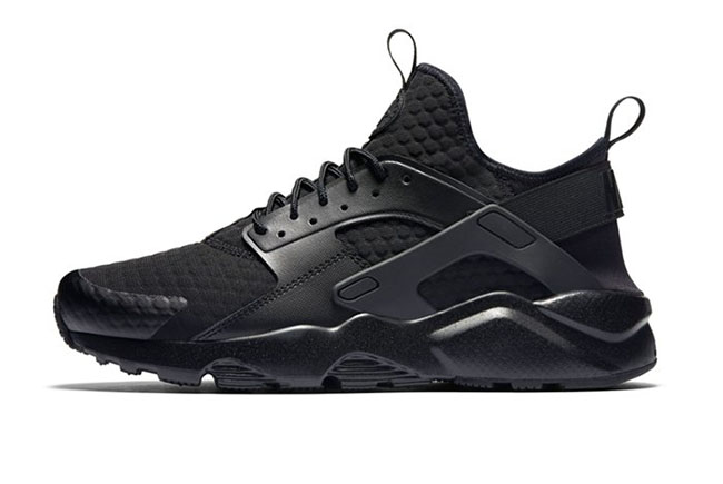 nike air huarache qs black reflective