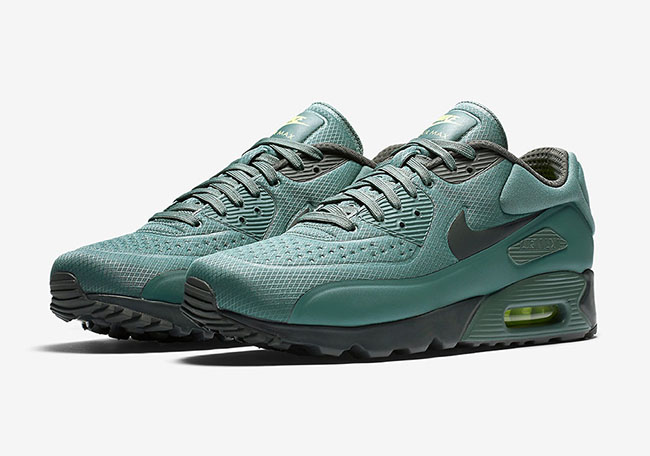 check out 40913 608f1 Nike Air Max 90 Ultra SE Hasta Green 845039-301 | SneakerFiles