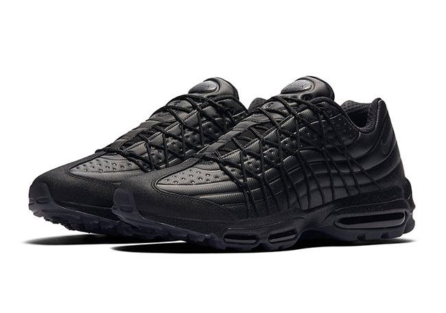 Nike Air Max 95 Ultra Triple Black 858965 001 | SneakerFiles