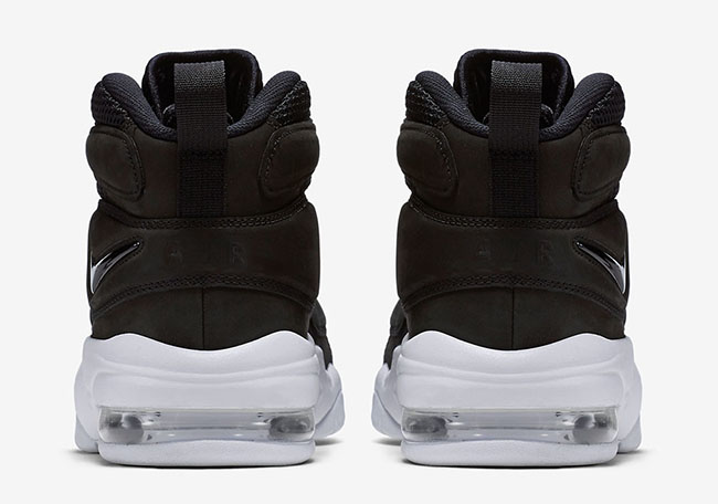 Nike Air Max Uptempo 2 Black White Release Date