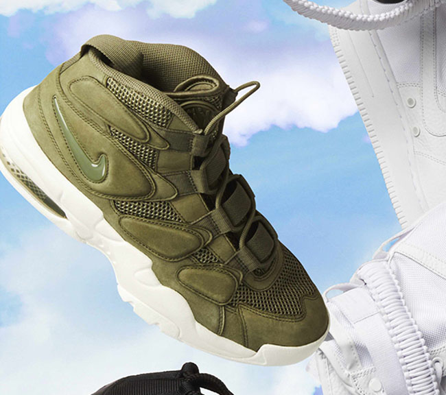 Nike Air Max Uptempo 2 Olive