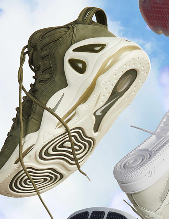 nike air max uptempo 97 olive