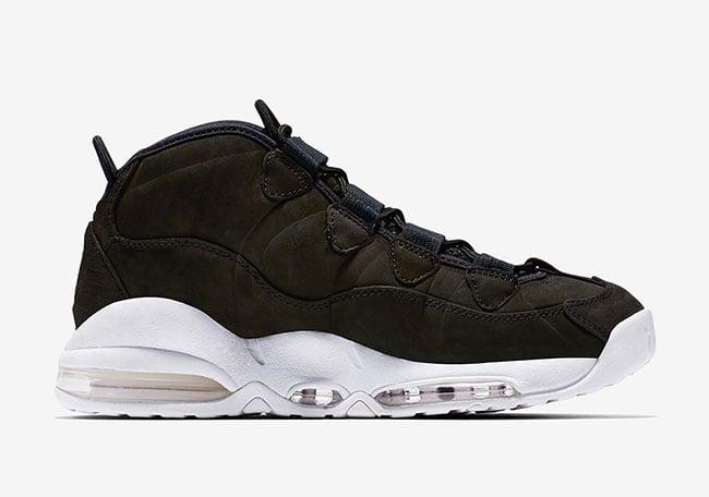Nike Air Max Uptempo Black White Release Date