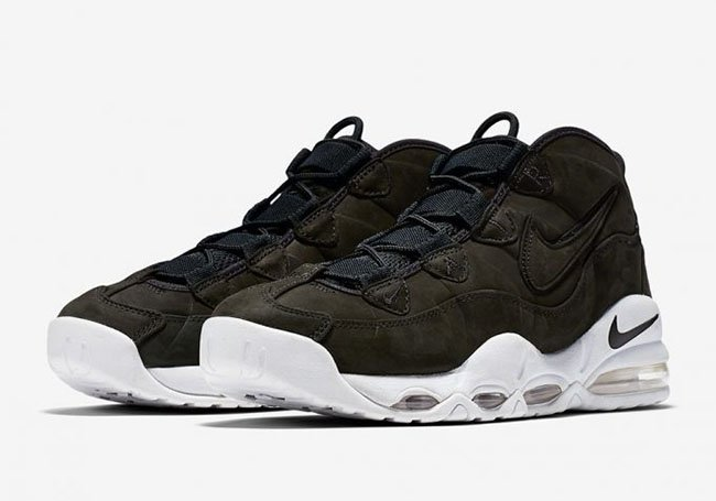 low priced 51431 7ff72 Nike Air Max Uptempo Black White 311090-005 Release Date ...