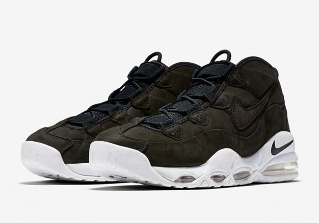 low priced 019db c38af Nike Air Max Uptempo Black White 311090-005 Release Date ...