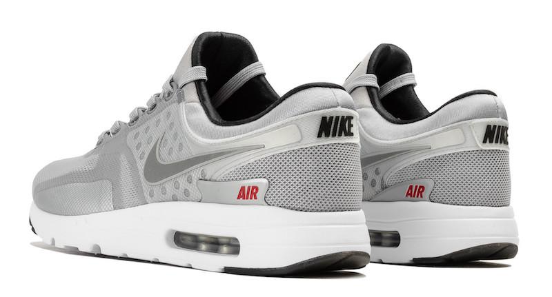 Nike Air Max Zero Metallic Silver