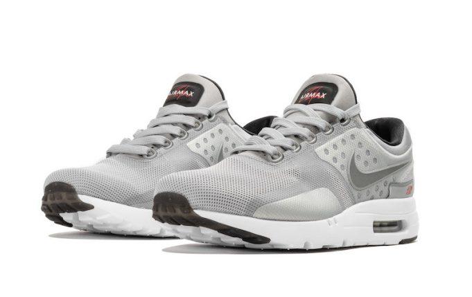 competitive price 4c032 e16e9 Nike Air Max Zero Metallic Silver 789695-002 | SneakerFiles