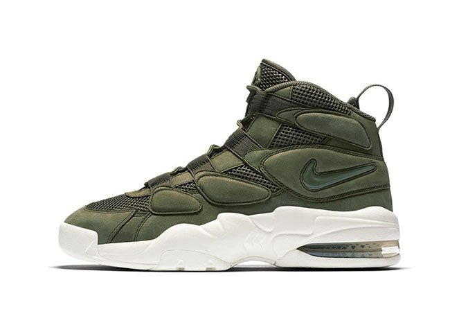 Nike Air More Tempo Green White