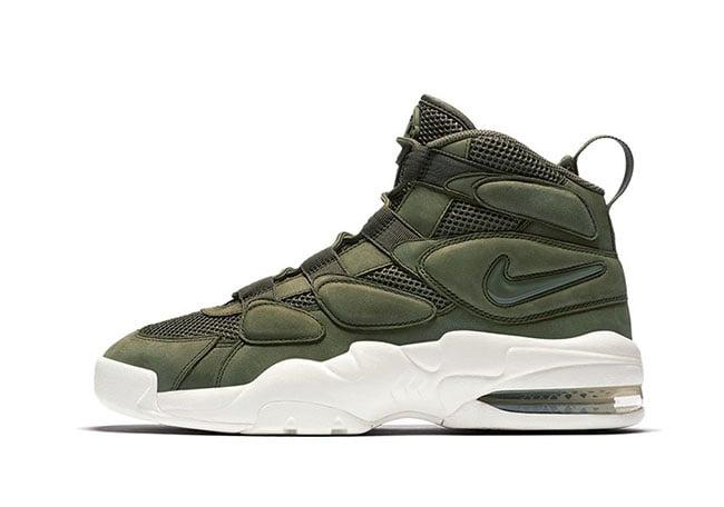 Nike Air More Tempo Green White