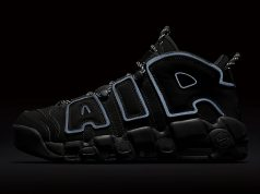 Nike Air More Uptempo Black Reflective