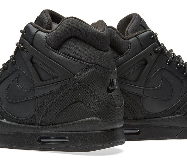 Nike Air Tech Challenge II Winterized Triple Black