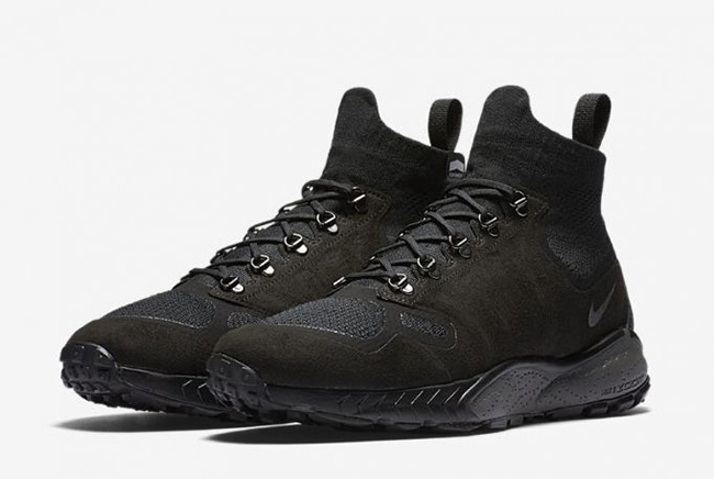 Nike Air Zoom Talaria Mid Flyknit Black White