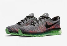 Nike Flyknit Air Max Multicolor Ghost Green