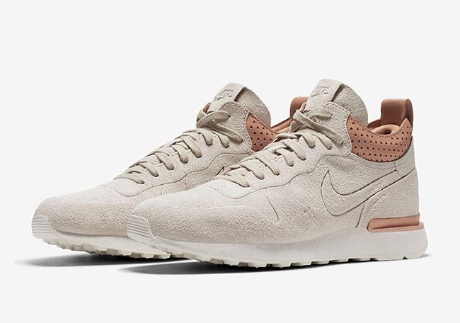 Nike Internationalist Mid Royal Sandtrap Tan