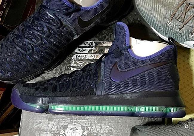 Nike KD 9 Obsidian Dark Purple Dust Release Date