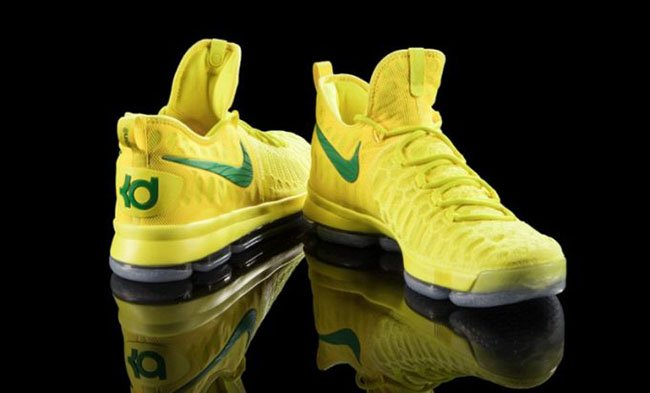 Nike KD 9 Oregon Ducks Yellow PE