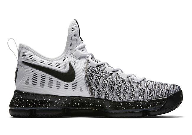 Nike KD 9 Oreo White Black