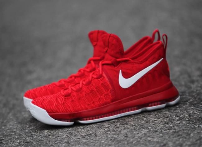 Nike KD 9 Varsity Red White