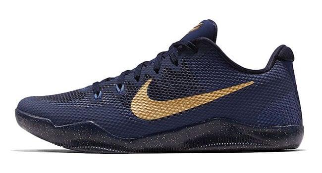Nike Kobe 11 Philippines Royal Blue Metallic Gold