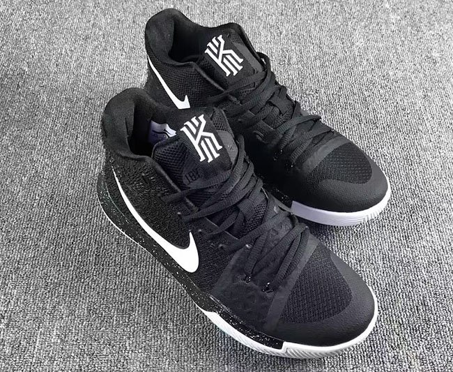 Nike Kyrie 3 Black White