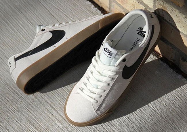 check out 312c0 3a9ac Nike SB Blazer Low GT Ivory Gum | SneakerFiles