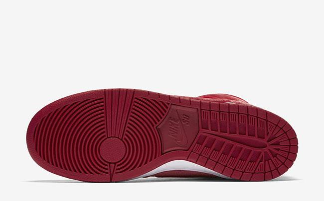 cbcf496e7f8 Nike SB Dunk High Red Velvet Release Date