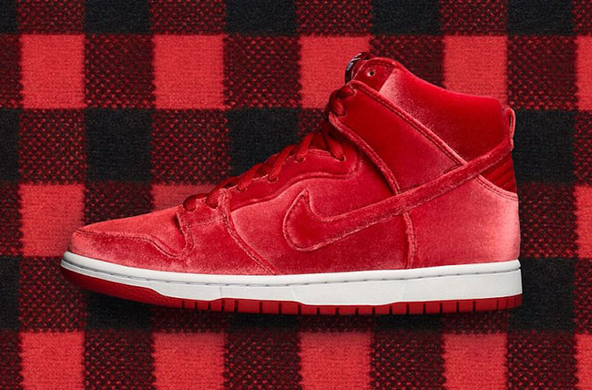 Nike SB Dunk High Red Velvet Release Date