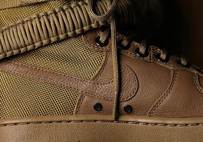 separation shoes 3da64 c1c7a Nike SF-AF1 Hazelnut Golden Beige 857872-200 | SneakerFiles