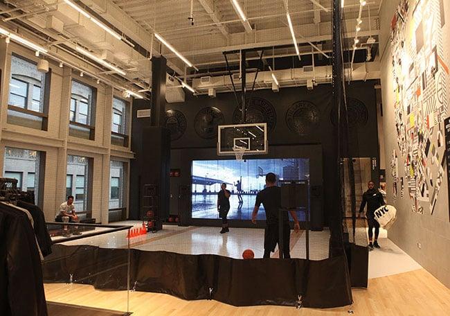 Nike SoHo NYC Fifth Floor