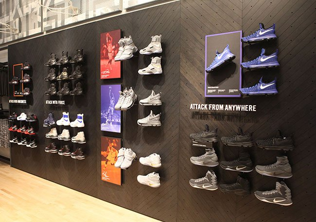 Nike SoHo NYC Fifth Floor