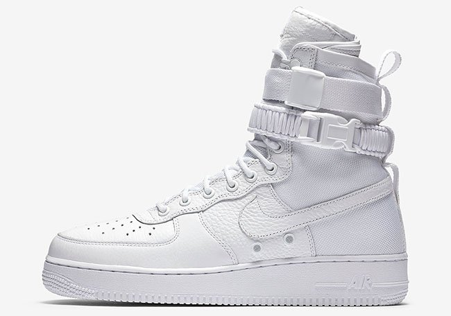 Nike Special Field Air Force 1 Triple White Release Date