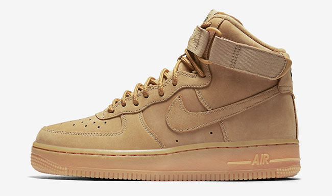Nike WMNS Air Force 1 High Wheat Release Date