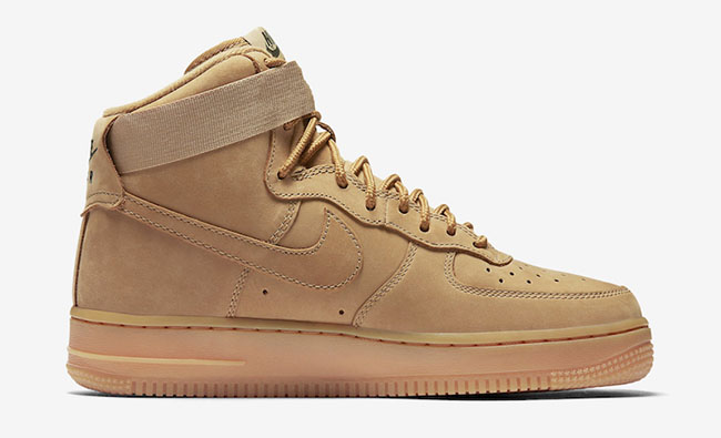check out de68f 4fdf9 Nike WMNS Air Force 1 High Wheat Release Date