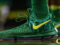 Oregon Ducks Nike KD 9