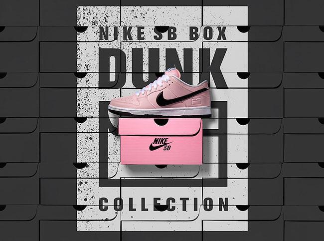 Pink Box Nike SB Dunk Low