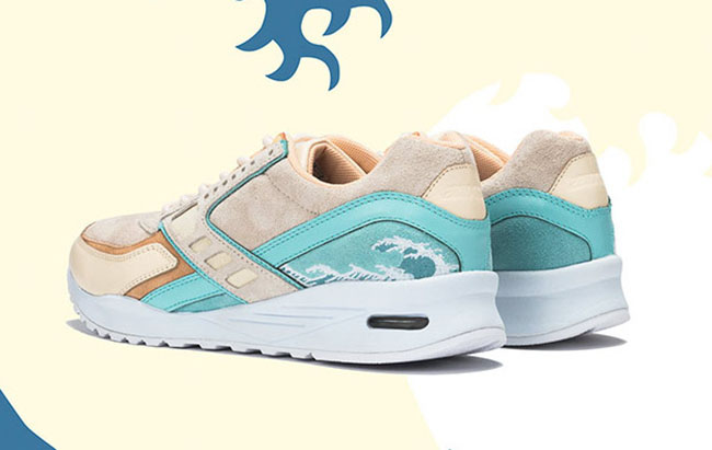 Pink Dolphin Brooks Regent Heritage Great Wave
